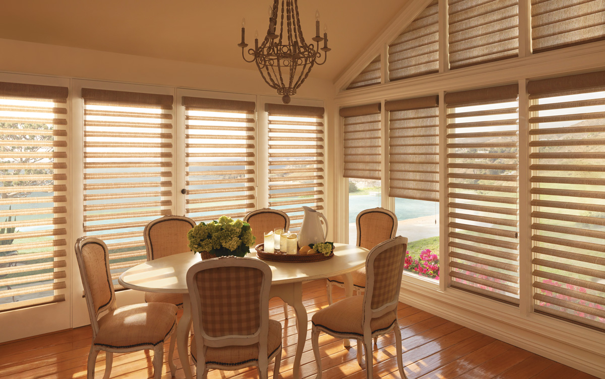 Hunter douglas archives windows and more for Hunter douglas exterior sun shades