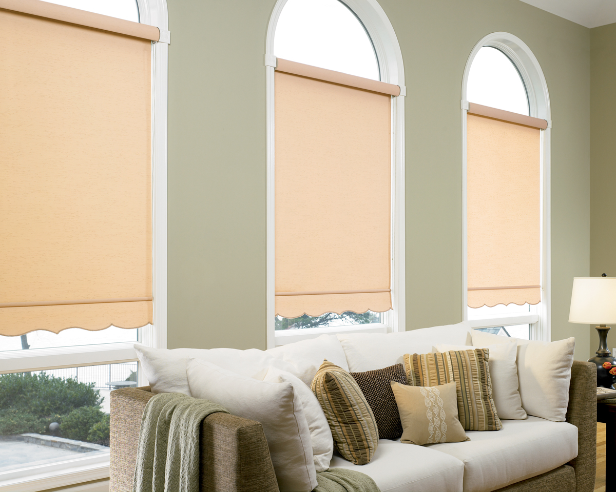 shade p x shades roller look w thermal l fabric blinds in cordless homebasics green linen