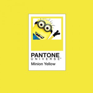 Pantone Minion Yellow 2016 Color of Year