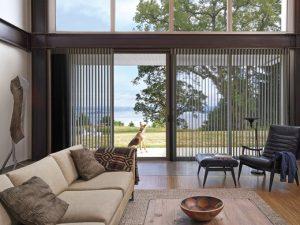 Luminette® Privacy Sheer on Sliding Door